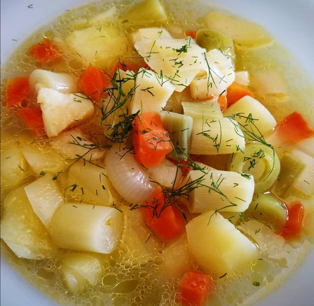 ポールサルダ(ネギのスープ)