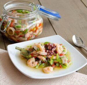 サルピコン 魚介サラダ