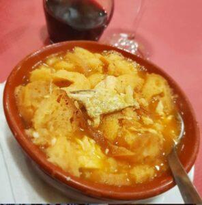 スペインの鱒のスープ