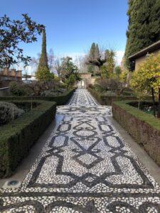 パラドール 庭